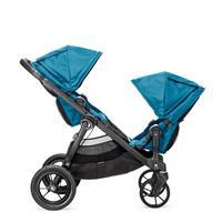 babyjogger city select zwillingswagen mit zwei babywannen 2016 teal blick zueinander Ansichtsdetail