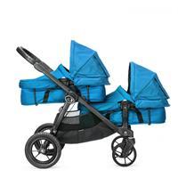 babyjogger city select zwillingswagen mit zwei babywannen 2016 teal mit select wannen Detailansicht