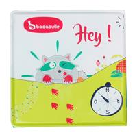 Badabulle bath book with finger dolls