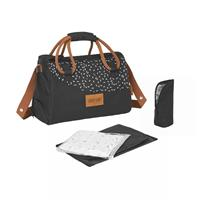 Badabulle diaper bag Pocketstyle Black Caramel