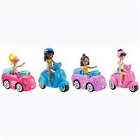 Mattel Barbie On The Go Puppe & Fahrzeug Sortiment