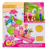 Mattel Barbie On The Go Pony Race Playset