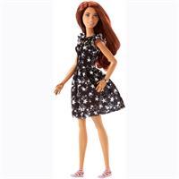 Mattel Barbie Fashionitas Puppe im Sternchen Kleid