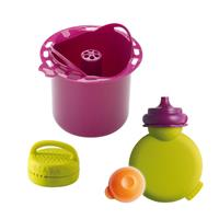 Beaba Zubehörset für Babycook Original Kompottflasche, Gewürzkugel und Reiskocher