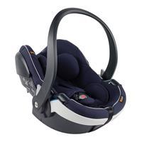 BeSafe Babyschale iZi Go Modular i-Size White Edge Navy Melange