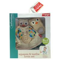 Bkids Squeeze and Teethe Lovie Set