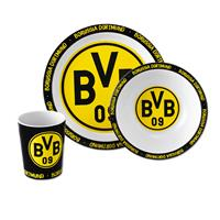 Borussia Dortmund Bambus Geschirr Set 3er Set