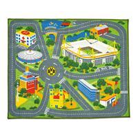 Borussia Dortmund Kinder Spiel-Teppich 1 x 1,2m