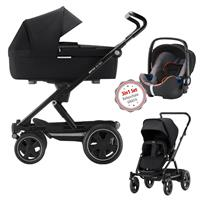3in1 Kinderwagen Set Britax Go Big2 Cosmos Black mit Gratis Babyschale