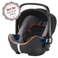 Gratis: Britax Römer Babyschale Baby-Safe2 i-Size Black Marble