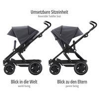 Britax Go Big2 Kinderwagen Graphite Melange mit umsetzbaren Sitzeinheit