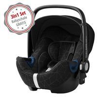 Gratis: Britax Römer Babyschale Baby-Safe2 i-Size Crystal Black