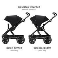 Britax Go Big2 Kinderwagen Cosmos Black mit umsetzbaren Sitzeinheit