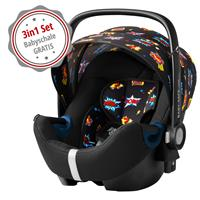 Gratis: Britax Römer Babyschale Baby-Safe2 i-Size Comic Fun