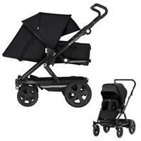 Britax Go Big 2 Kinderwagen mit Softtasche Cosmos Black