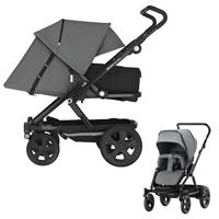 Britax Go Big 2 Kinderwagen mit Softtasche Steel Grey