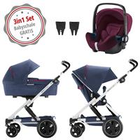 Britax Go Next 2 3in1 Kinderwagen mit Babyschale GRATIS Oxford Navy