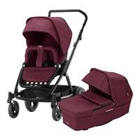 Britax Kombikinderwagen Go Next 2 Design 2019 Wine Red Melange