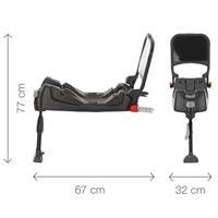 Abmessungen der Isofix-Base für Baby-Safe Babyschale