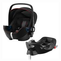 Britax Römer Babyschale Baby-Safe 2 i-Size Bundle inkl. Basis Station Design 2020 Cool Flow Black