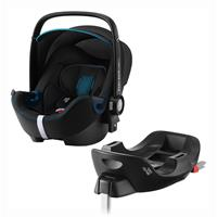 Britax Römer Babyschale Baby-Safe 2 i-Size Bundle inkl. Basis Station Design 2020 Cool Flow Blue
