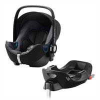 Britax Römer Babyschale Baby-Safe 2 i-Size Bundle inkl. Basis Station Design 2020 Graphite Marble