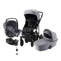 Britax Römer Smile III Comfort Plus Set Design Frost Grey / Black
