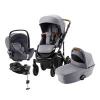 Britax Römer Smile III Comfort Plus Set Design Frost Grey / Brown