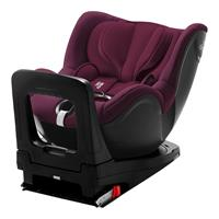 Britax Römer Kindersitz Dualfix i-Size Design 2019 Burgundy Red