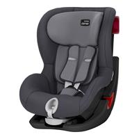 Britax Römer Kindersitz KING II Black Series Design 2017 Storm Grey