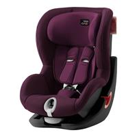 Britax Römer Kindersitz KING II Black Series Design 2019 Burgundy Red