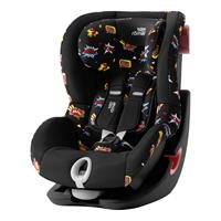 Britax Römer Kindersitz KING II Black Series Design 2019 Comic Fun