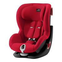 Britax Römer Kindersitz KING II Black Series Design 2019 Fire Red