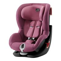 Britax Römer Kindersitz KING II Black Series Design 2019 Wine Rose
