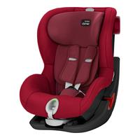 Britax Römer Kindersitz KING II LS Black Series Black Series Design 2018 Flame Red