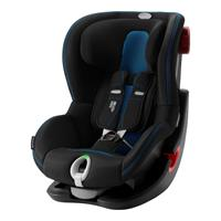 Britax Römer Kindersitz King II LS Black Series Design 2020 Cool Flow Blue