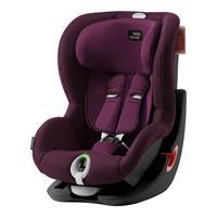 Britax Römer Kindersitz King II LS Black Series Design 2019 Burgundy Red