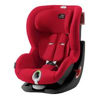 Britax Römer Kindersitz King II LS Black Series Design 2019 Fire Red