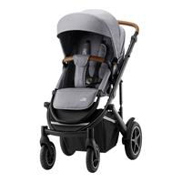 Britax Römer Essential Set: Kinderwagen Smile III & Tragewanne Frost Grey Brown