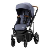 Britax Römer Comfort Set: Kombikinderwagen Smile III & Babyschale Baby-Safe 2 i-Size Indigo Blue