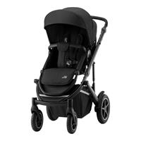 Britax Römer Comfort Plus Set: Kombikinderwagen Smile III, Baby-Safe 2 i-Size & Base Space Black
