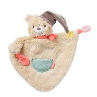 BabyFehn cuddle cloth, Bär, klein Dreiecksformc