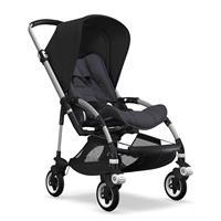 bugaboo bee5 Alu-Steel Blue-Schwarz | Kinderwagen für die Stadt