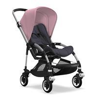 bugaboo bee5 Alu-Steel Blue-Soft Pink | Kinderwagen für die Stadt