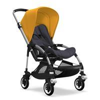 bugaboo bee5 Alu-Steel Blue-Sonnengelb | Kinderwagen für die Stadt