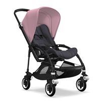 bugaboo bee5 2019 Kinderwagen für die Stadt Schwarz-Steel Blue-Soft Pink