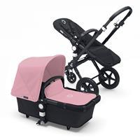 bugaboo Kombikinderwagen Cameleon3 Schwarz / Soft Pink