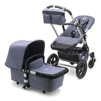 bugaboo cameleon3 Kombikinderwagen Fresh Collection blau meliert