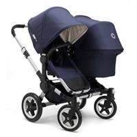 bugaboo donkey duo classic+ navy blue