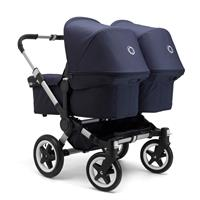 bugaboo donkey twin classic+ navy blue
